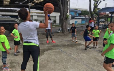 Community Service (Basketball clinic)